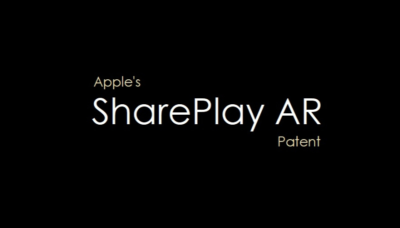 1 Cover Apple's SharePlay AR patent