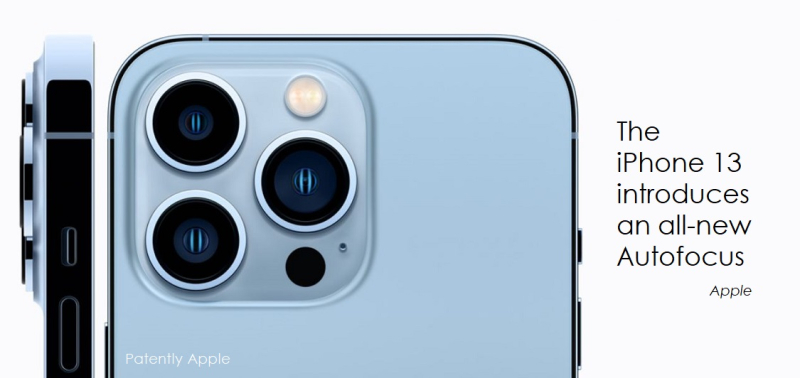 1 x Ccover iPhone 13 camera with all-new autofocus