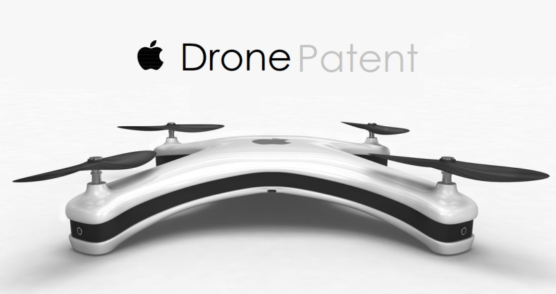 1 x cover Apple Drone concept drawing