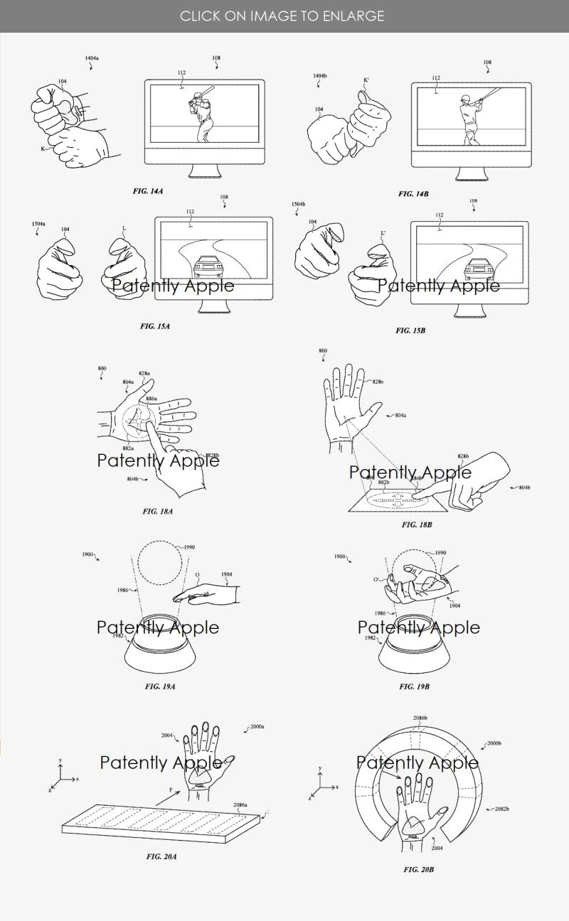 3 apple vr glove inputs