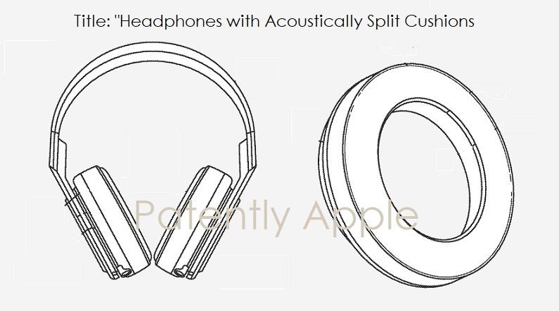 1 Cover Granted Patent  over-ear Headphones - sept 8  2020