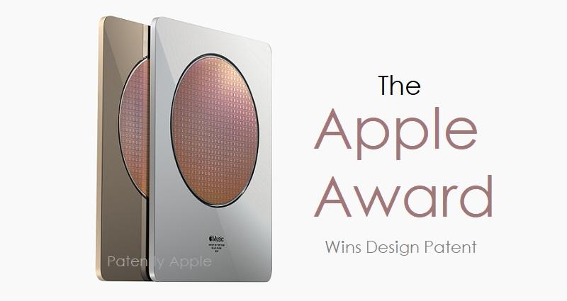 1 cover Apple Award Plaque