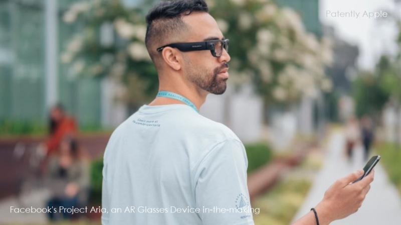 2 x Facebook project Aria Smartglasses