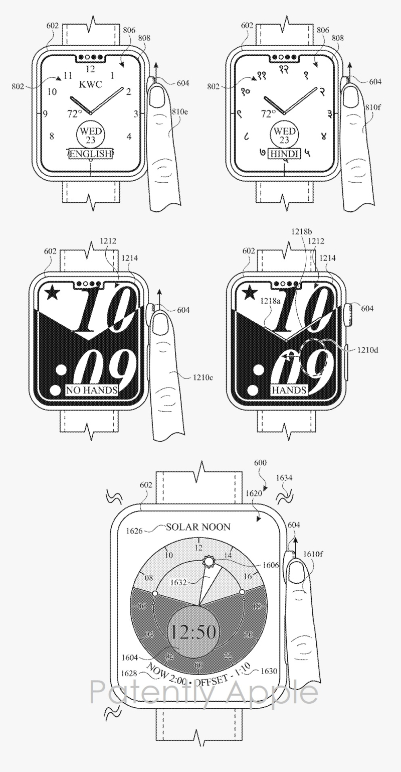 3 Sample of Apple Watch patent figs