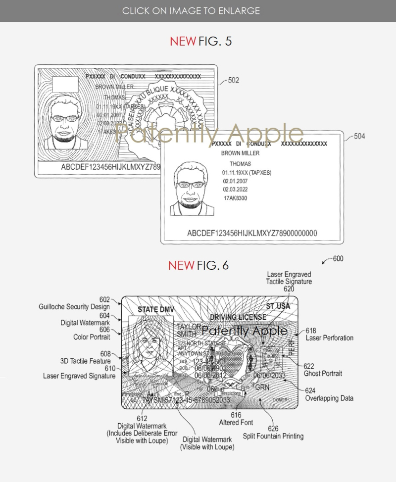 3 X --- Apple Security ID system tied into a Natioinal database