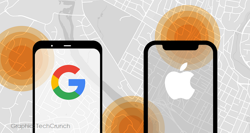 1 x  cover apple google contact tracing