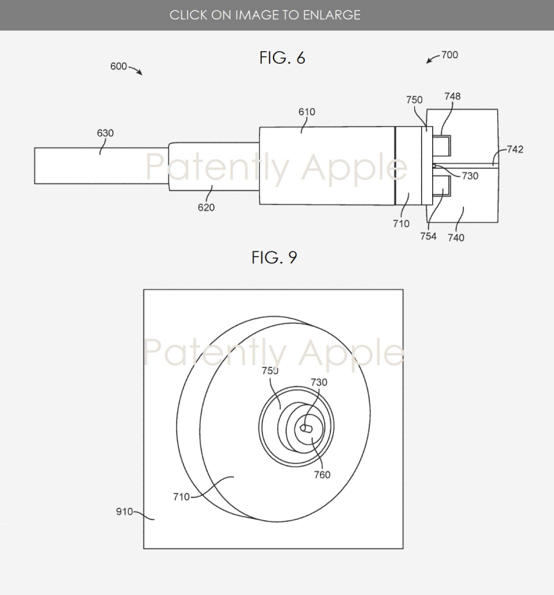 3 Apple connector patent figs 6 & 9