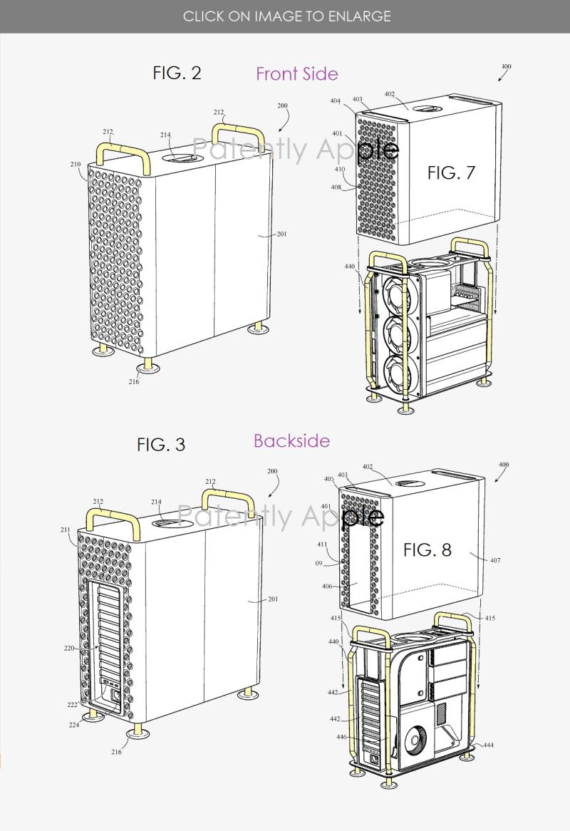 2 X Mac Pro patent