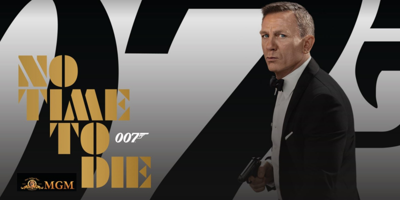 1 X Cover James Bond Film No Time to Die