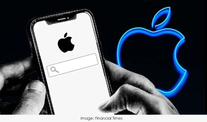 1 x Financial Times image of Apple Search