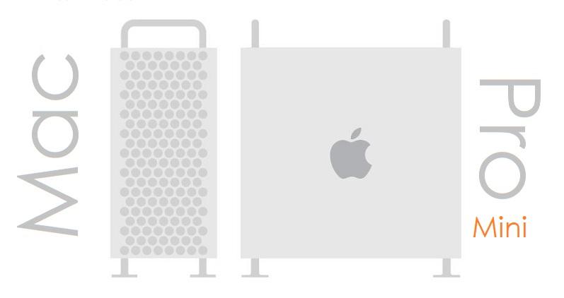 1 X Cover Mac Pro MINI