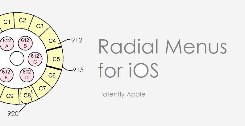 1 x cover Radial Menus