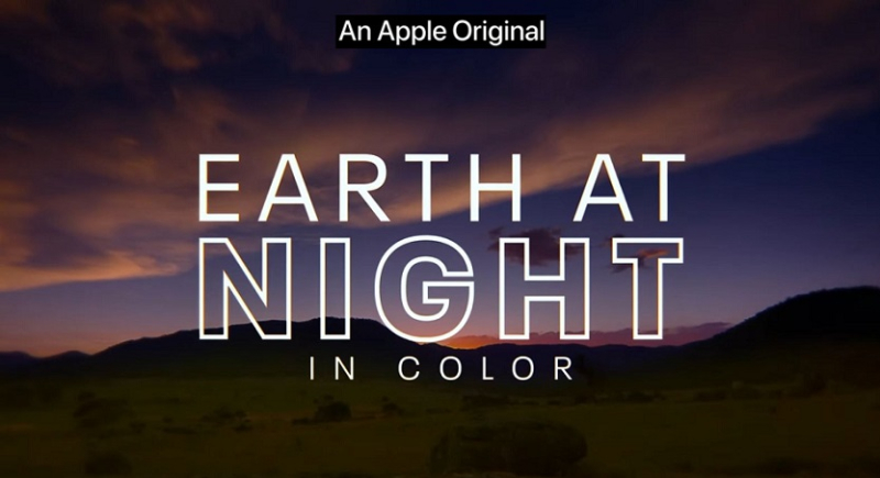1 x  cover Earth at Nigth in Color