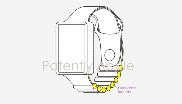 Apple Wins Patent for a Future Apple Watch Band that includes Embedded Batteries to Power more Features & Extend Battery Life