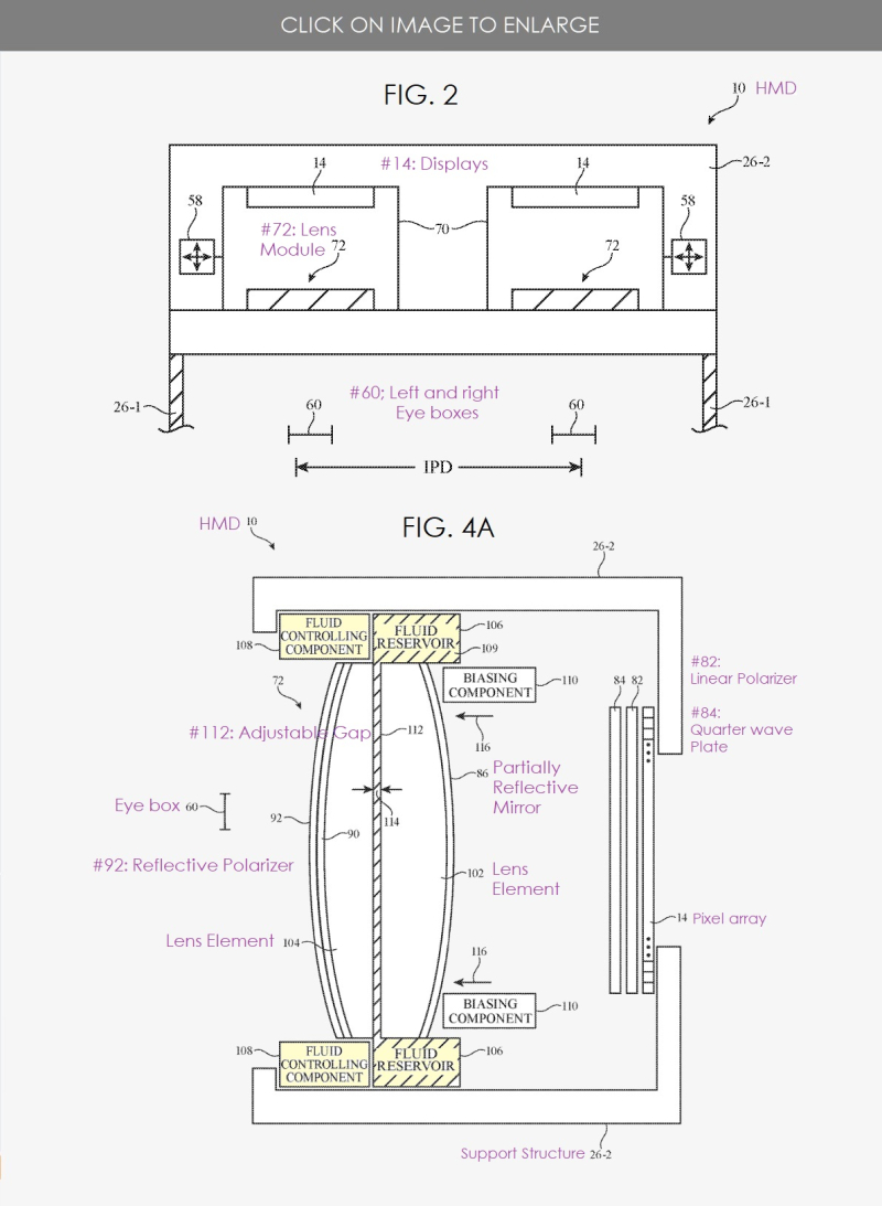2 x  hmd patent granted to Apple