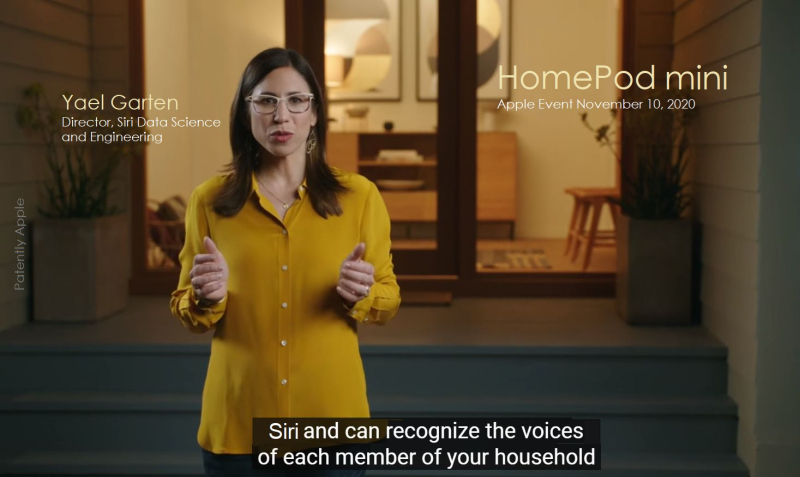 1 XCOVER FINAL - YAEL GARTEN  Director Siri on HomePod Mini