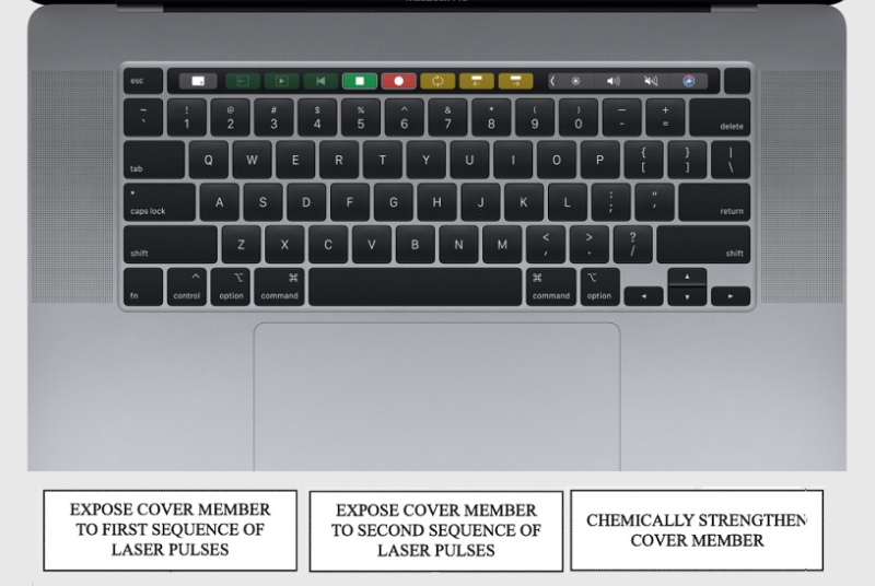 1 cover macbook trackpad patent