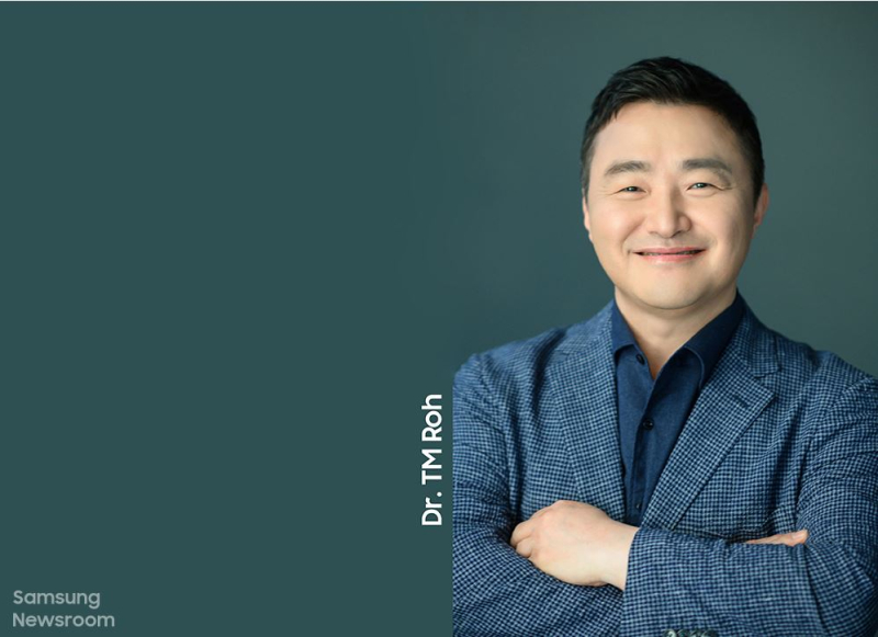 2 Samsung's mobile chief dr. TM Roh