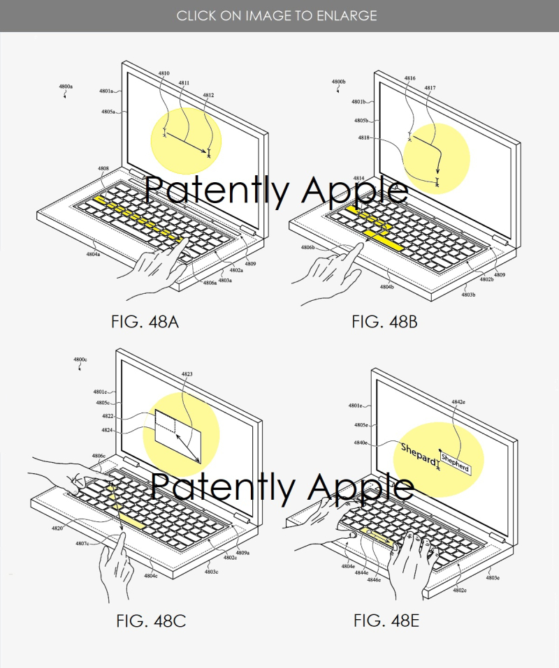 3 apple wins patent for Macbook's new features