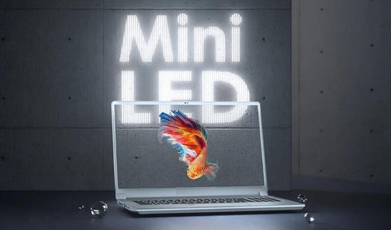 1 cover mini-LED MacBook Pro 2021