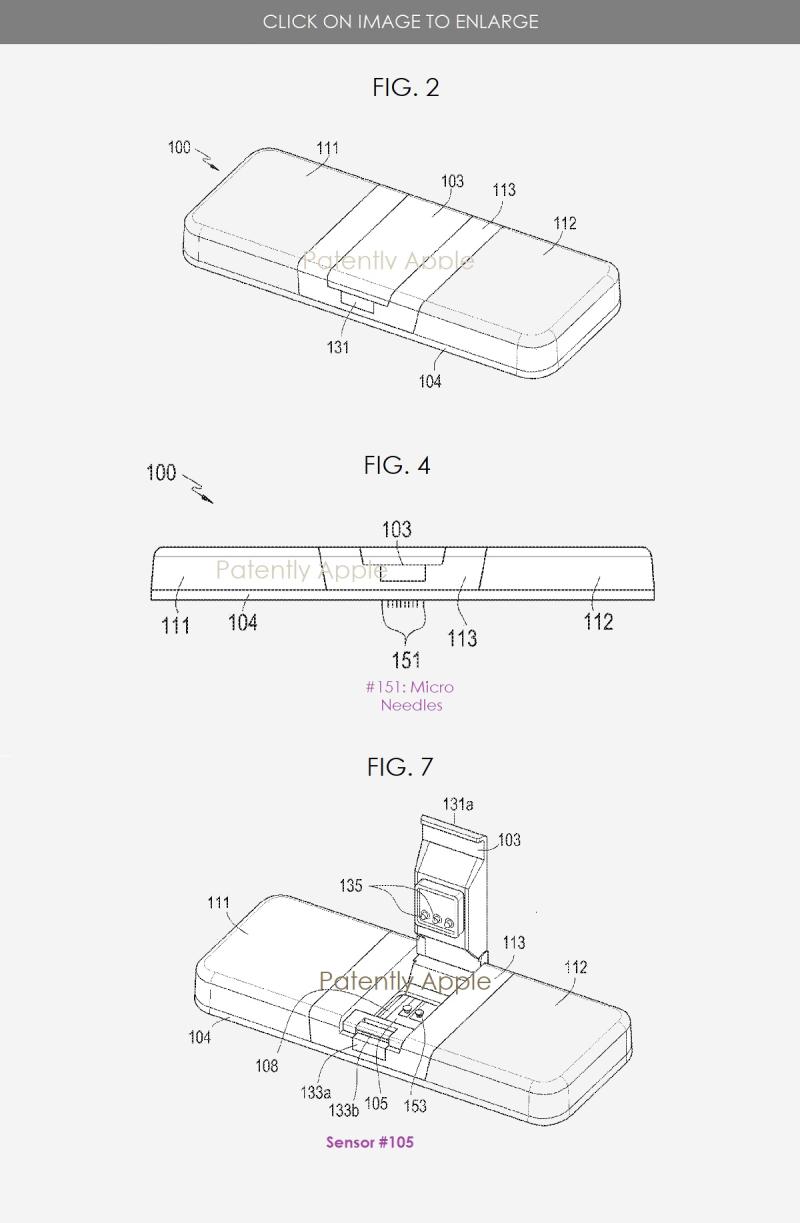 3x Samsung glucose measuring device