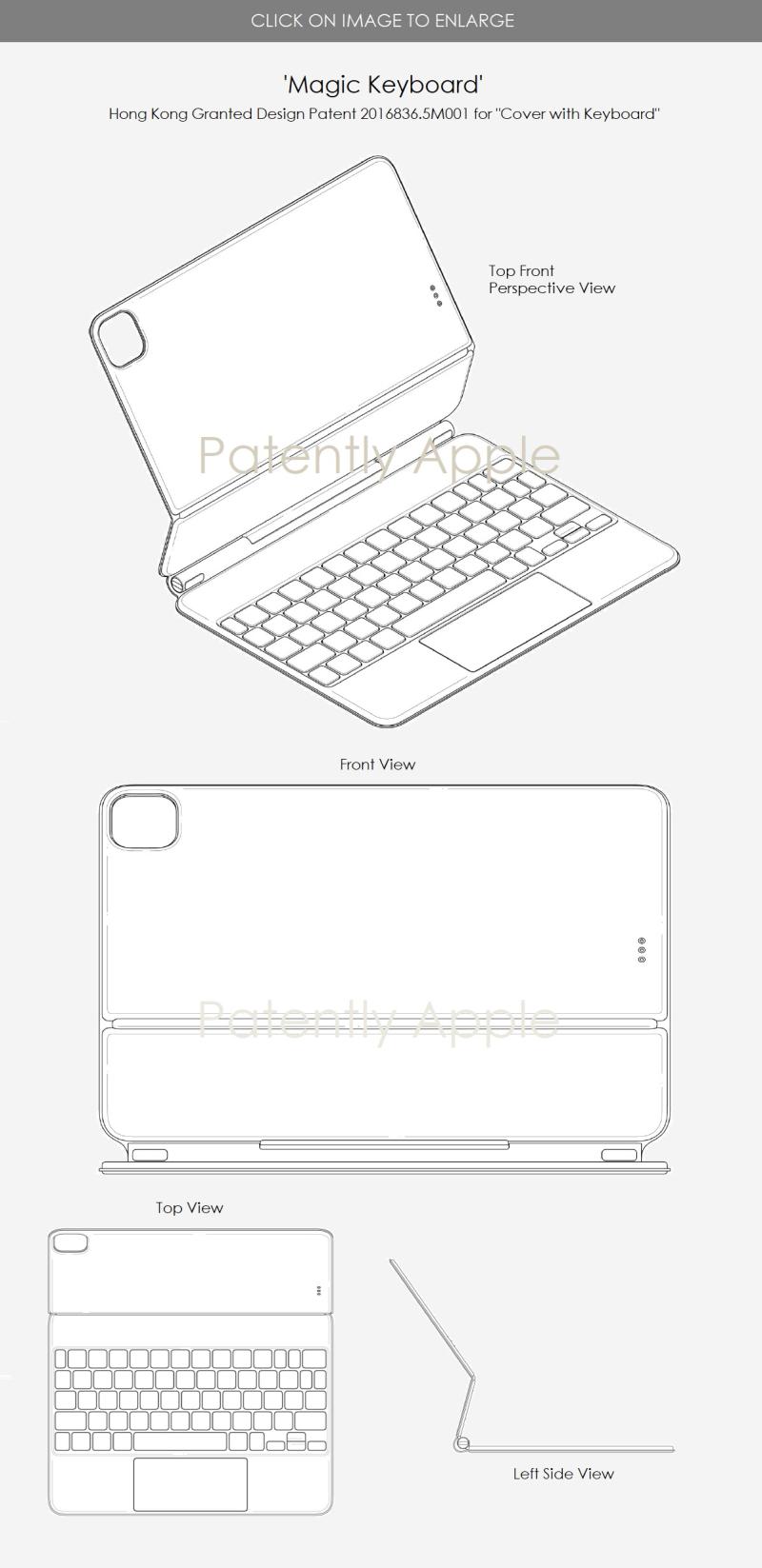 2 X Design Patent 2016836.5M001