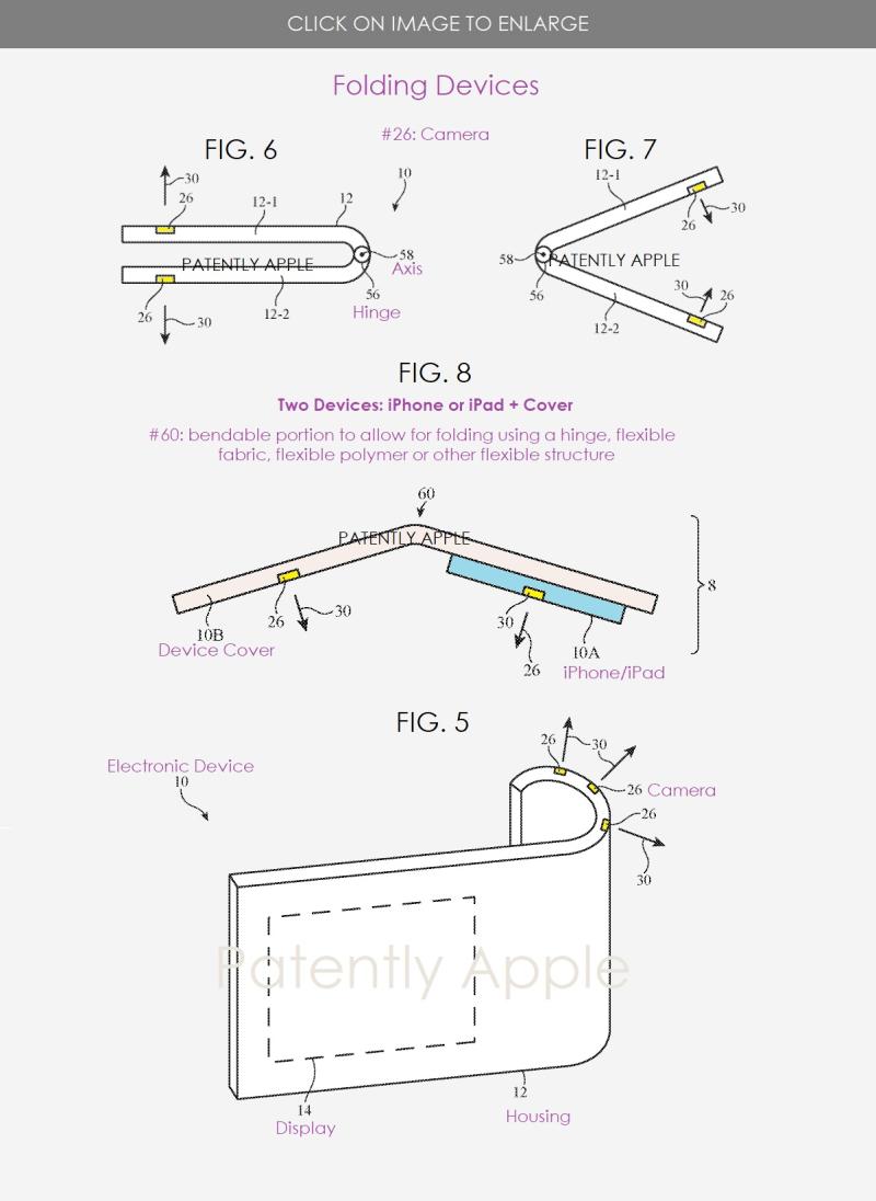 3 Apple patent figs 5  6 7 & 8
