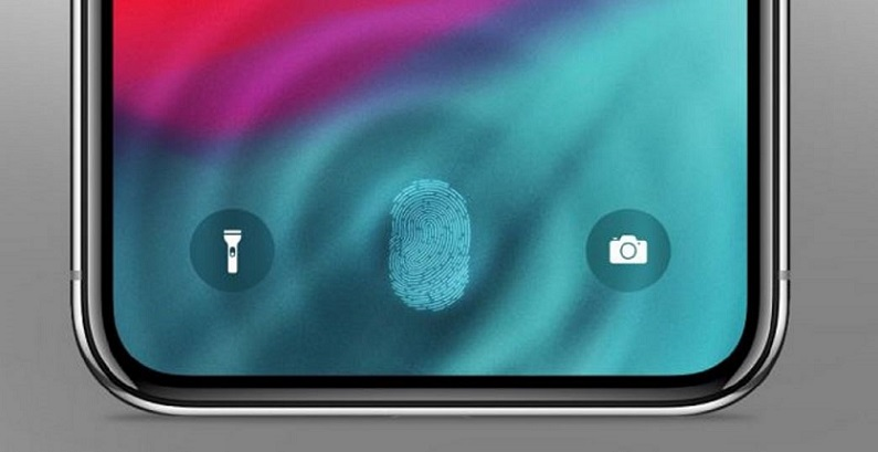 1 x cover touch id  in-display  under-display