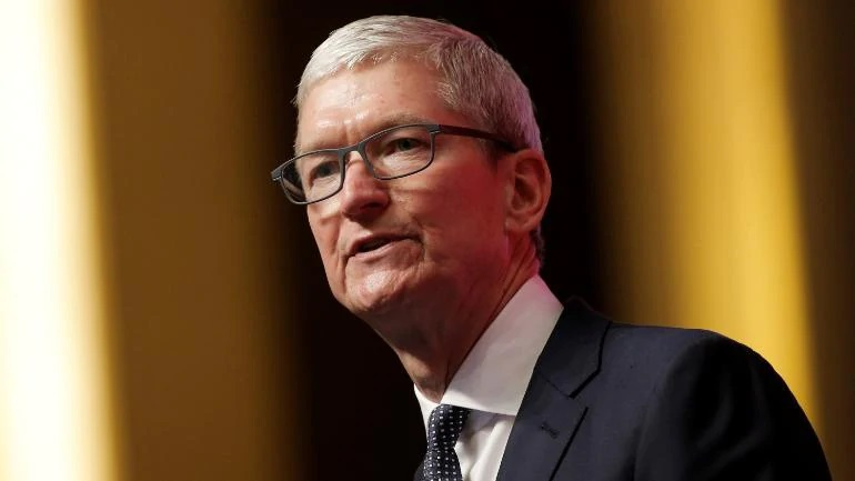 1 x  Cover - Tim Cook