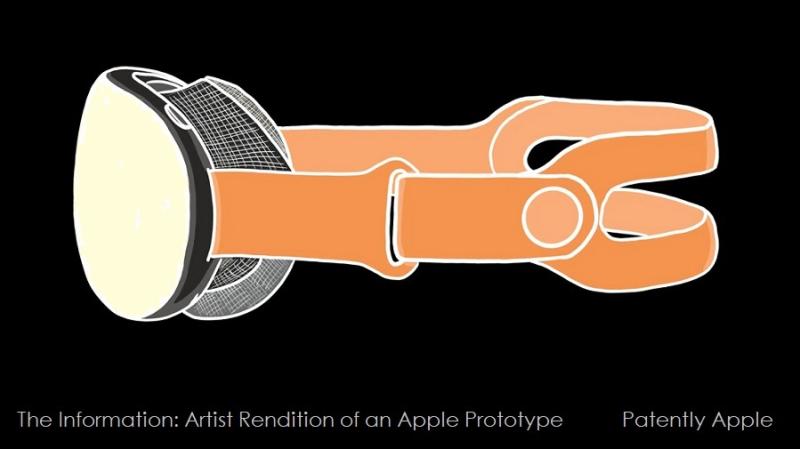 1 x cover - rendition of apple prototype