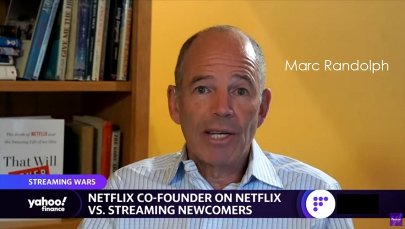 1 x Cover Co-Founder of Netflix Marc Randolph