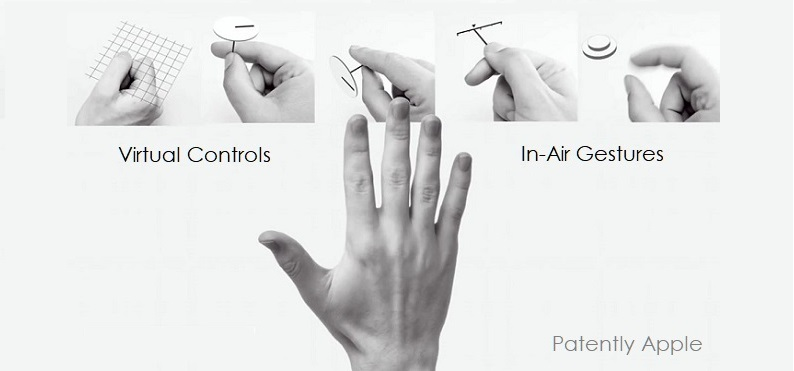1 X cover gesture patent