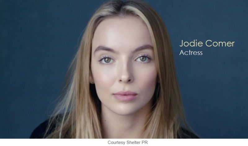 1 x cover Jodie comer