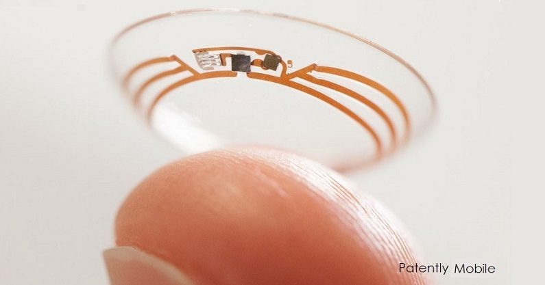 2 cover Google files for smart contact lens patent