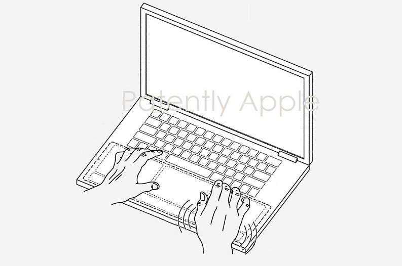 1 cover MacBook Haptics  multiple areas
