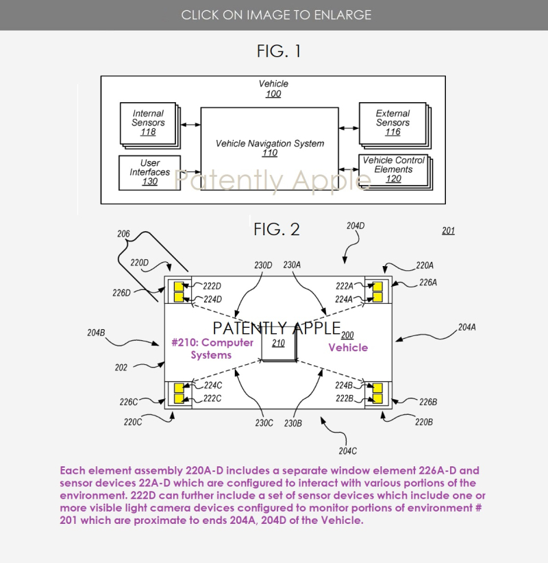 2 Project Titan patent granted figures