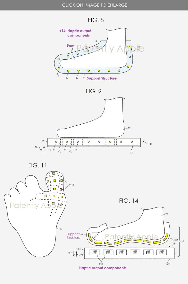 2 smart footwear patent  apple  Patently apple