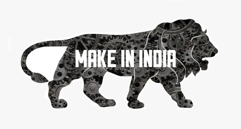 1 x cover Make in India