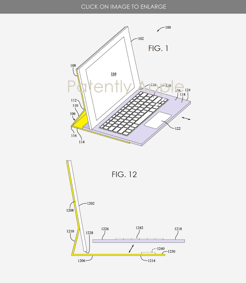 2x next-gen Smart Keyboard patent figs  Patently Apple report