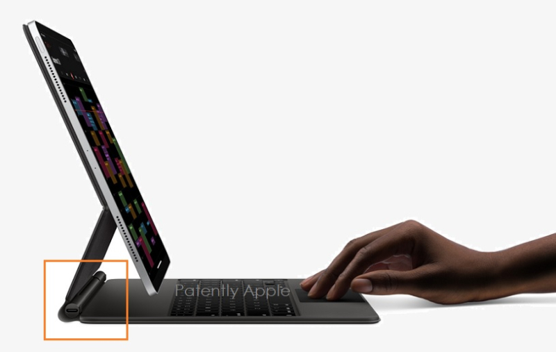 1 cover smart keyboard usb-c charging port patent