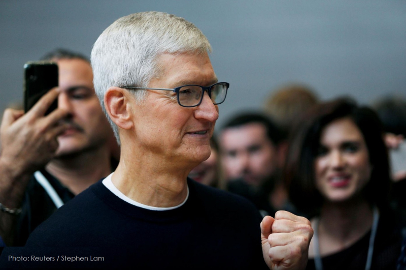 1 x cover tim Cook on Climate Change