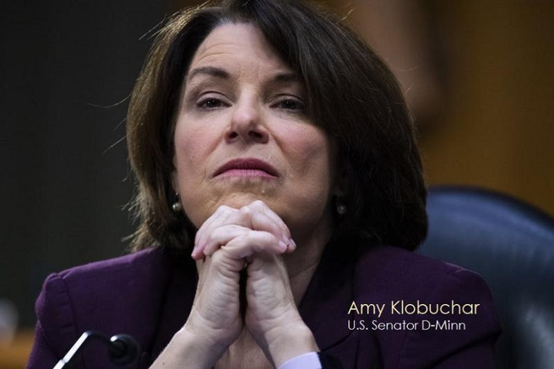 1 Cover - Senator D-Minn Amy klobuchar