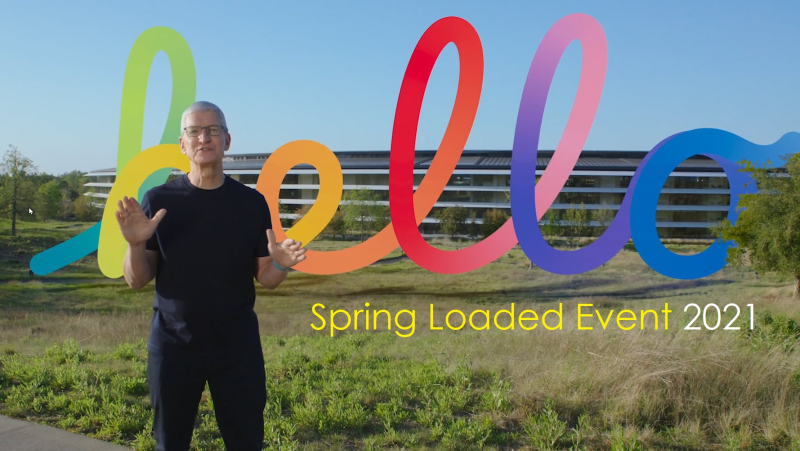 1 Cover Apple Event 2021  Spring Loaded Apr 20  2021