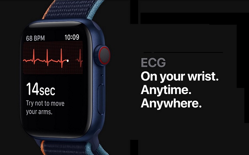 1 COVER APPLE WATCH WITH ECG