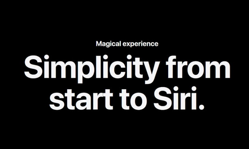 1 cover magical experience with Siri could extend to security  privacy