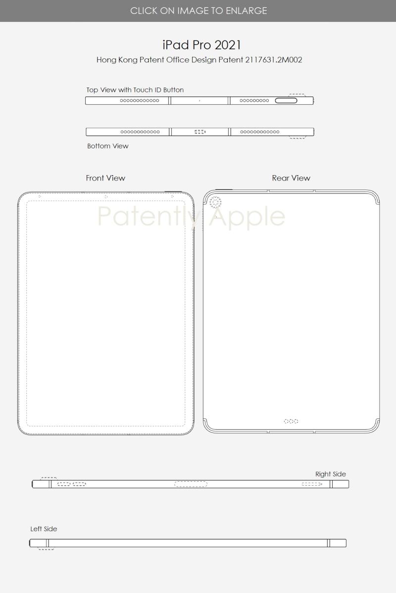 2 iPad Pro 2021 Hong Kong Design patent Apr 30  2021