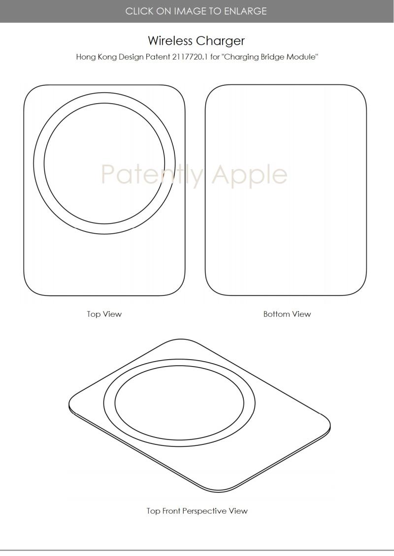 5 Apple design patent Hong Kong for charging bridge  module
