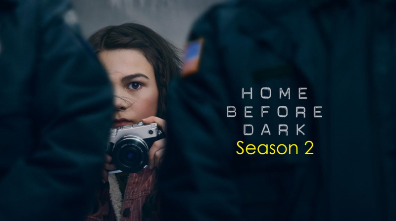 1 x cover Home Before Dark season 2