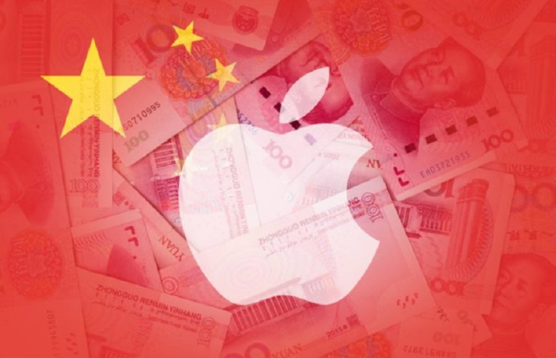 1 x cover Apple  China