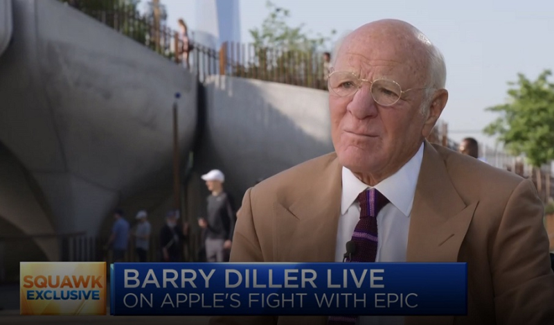 1 x cover Barry Diller